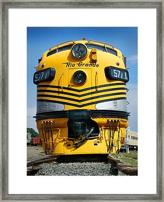 Rio Grande At Its Prime Framed Print by Ken Smith