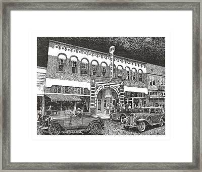 Rio Grande Theater Framed Print