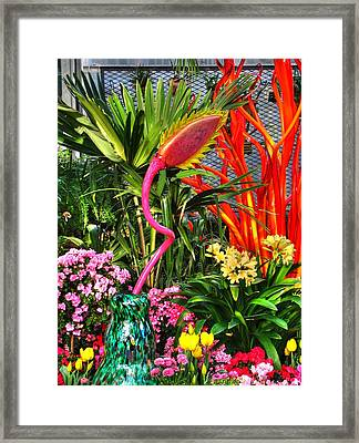 Riotous Color Framed Print by Chris Anderson