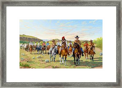 Rip Ford's Dps 1850 Framed Print