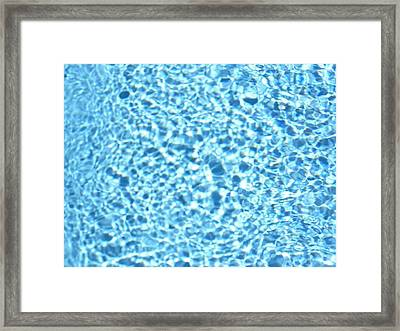 Ripple 1 Framed Print