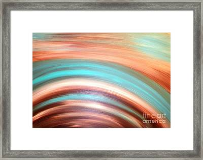 Ripple Effect Framed Print