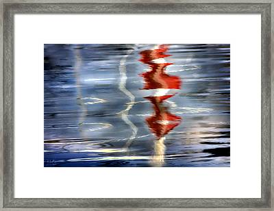 Ripple  Framed Print by Richard Piper