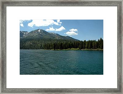 Ripples On The Bay Framed Print by LeeAnn McLaneGoetz McLaneGoetzStudioLLCcom