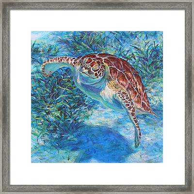 Rise Framed Print by Li Newton