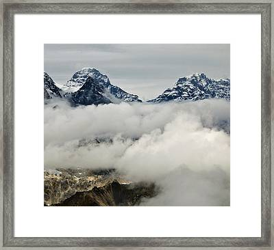 Rising Above Framed Print by George Hawkins