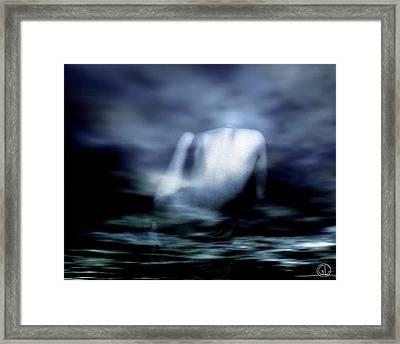 Rising Framed Print by Gun Legler