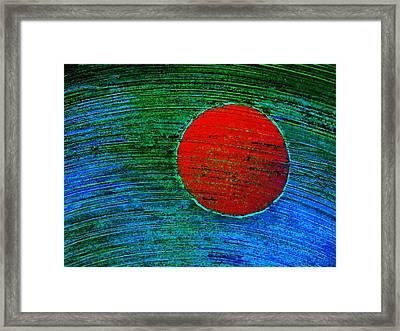 Rising Sun Framed Print by Marcia L Jones