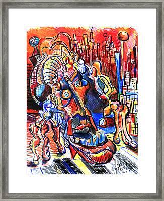 Risperdal  Framed Print by Jon Baldwin  Art