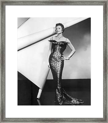 Rita Hayworth In Publicity Pose For Pal Framed Print by Everett