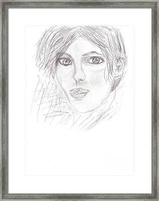 Rita Framed Print by Kira Nech
