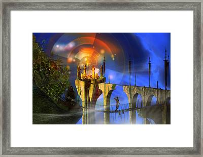 Framed Print featuring the digital art Rite Of Passage by Shadowlea Is