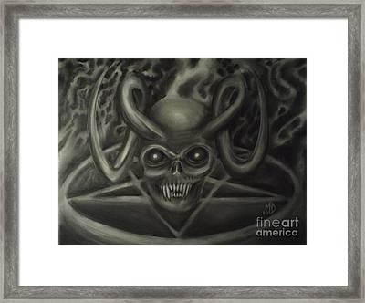 Ritual Framed Print by Matt Detmer