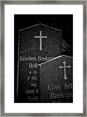 Ritual Framed Print