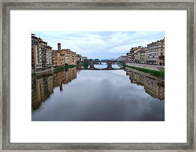River Armo. Framed Print by Terence Davis