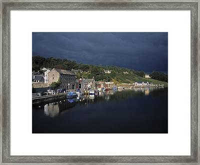 River Barrow, Graiguenamanagh, Co Framed Print by The Irish Image Collection