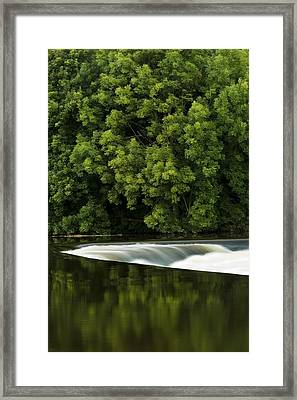 River Boyne, County Meath, Ireland Framed Print by Peter McCabe