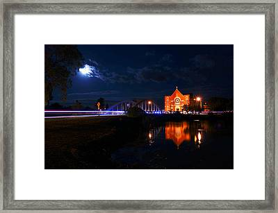 River Canard Framed Print by Cale Best