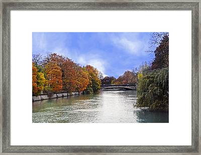 River Colors Framed Print by Anthony Citro