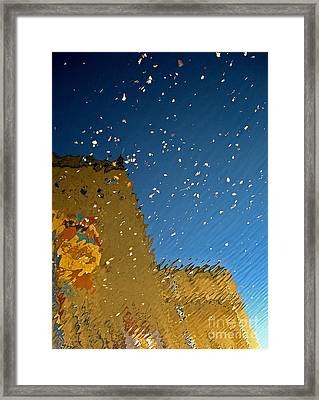 Framed Print featuring the photograph River Crossing Border Crossing by Andy Prendy