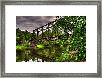 River Crossing Framed Print