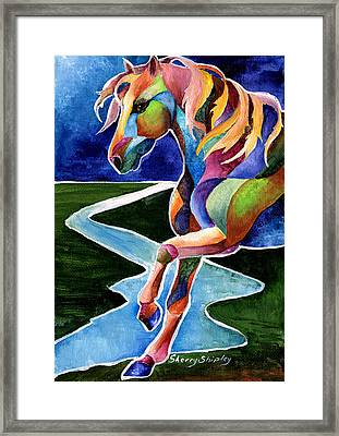 River Dance 2 Framed Print
