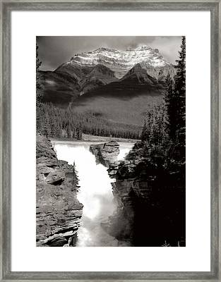 River Fall Part 1 Framed Print by Marcin and Dawid Witukiewicz