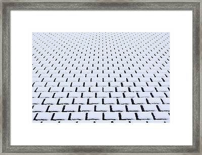 River Framed Print by GLIDEi7