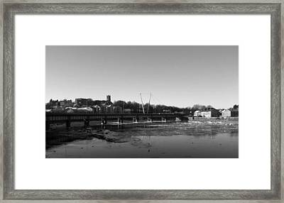 River Lune Framed Print by Christopher Mercer