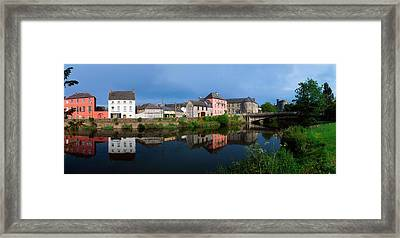 River Nore, Kilkenny, County Kilkenny Framed Print by The Irish Image Collection