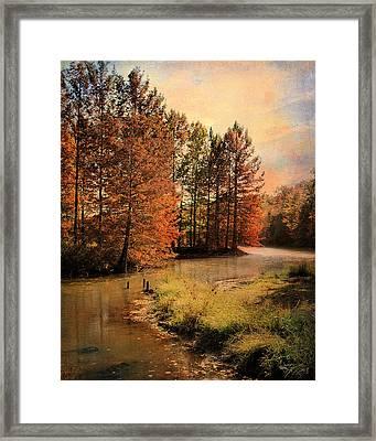 River Of Hope Framed Print by Jai Johnson