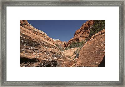 River Of Rock Framed Print