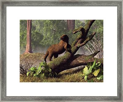 River Otter Framed Print by Daniel Eskridge
