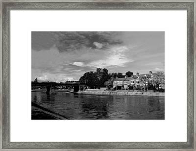 River Ouse Framed Print