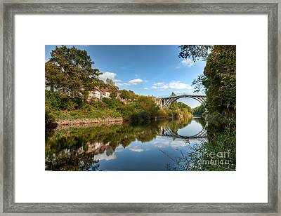 River Severn Framed Print by Adrian Evans