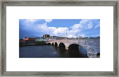 River Slaney, Enniscorthy, Co Wexford Framed Print by The Irish Image Collection