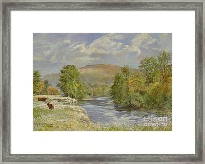 River Spey - Kinrara Framed Print by Tim Scott Bolton