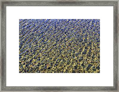 Framed Print featuring the photograph River by Tad Kanazaki