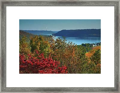 River View V Framed Print by Steven Ainsworth
