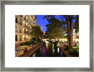 River Walk 2 Framed Print