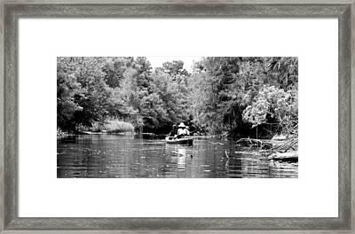Riverbend Park Framed Print by Ama Arnesen