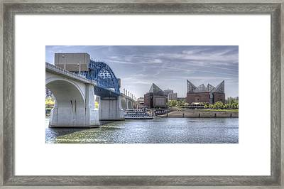 Riverfront Framed Print by David Troxel