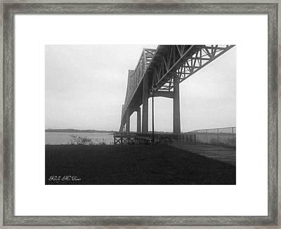 Riverfront Framed Print by Kelly Turner