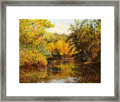 River's Bend Framed Print