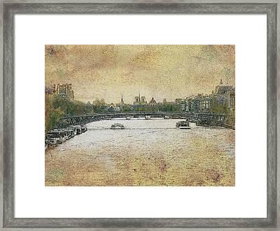 Riverside Framed Print by Bjorn Borge-Lunde
