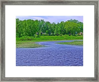 Riverside Park 3 Framed Print by Dave Dresser