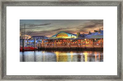 Riverwalk Framed Print by Sean Allen
