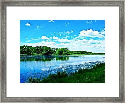 Riveside Park 6 Framed Print by Dave Dresser