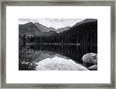 Rmnp Lake Framed Print