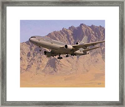Rnlaf Kdc10 In Afghanistan Framed Print by Nop Briex